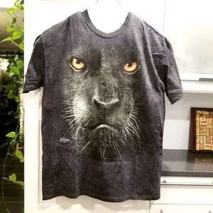 NWOT White Mtn Black Panther Tee Shirt